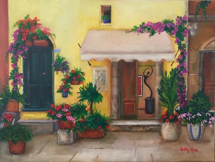Art Gallery in Europe, European buildings, Italy