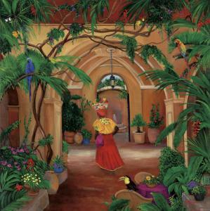 Columbia, fruit lady, Cartagena, South America