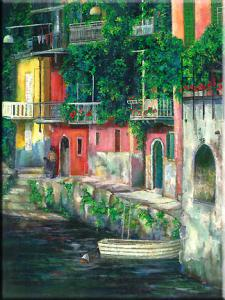 Canal View, Italy Harbor