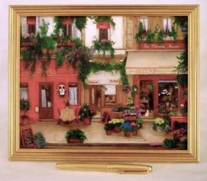 paris cafe, street scene, paris, france