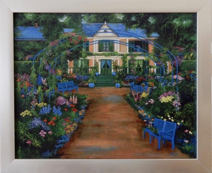 Monet's house, monet's garden, france, garden